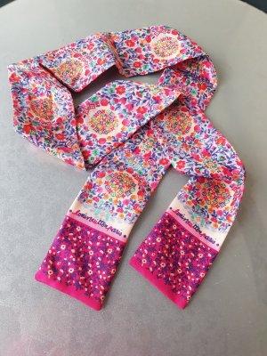 Louis Vuitton Panno di seta bianco-rosa Seta