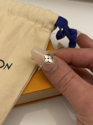 Original Louis Vuitton Blossom Schmuck Ring weißgold Diamant