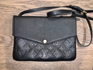 Original LOUIS VUITTON Cross Body Bag Tasche Modell TWICE in schwarz TOPZUSTAND