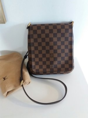 Original LOUIS VUITTON crossbody Pochette Musette Salsa in Damier Ebene