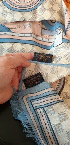 Original Louis Vuitton Damier Azur set 2t. neu