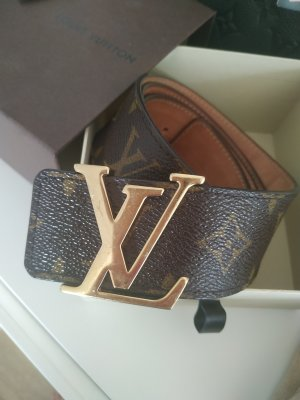 Louis Vuitton Leather Belt multicolored