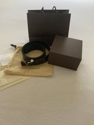 Louis Vuitton Reversible Belt black-brown