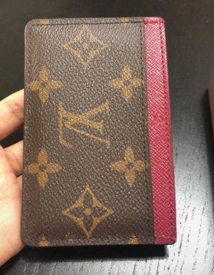 Louis Vuitton Kaartetui donkerrood-bruin