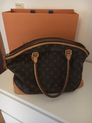 Original Louis Vuitton Lockit horizontal braun Tasche