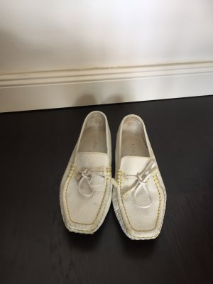 Louis Vuitton Moccasins white