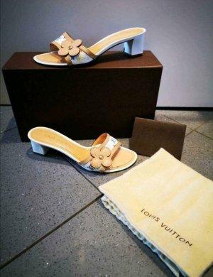 Original Louis Vuitton Monogram Pumps Sandalen bunt Gr 36