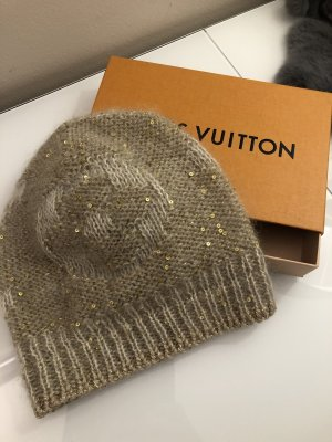 Original Louis Vuitton Mütze beige Gold