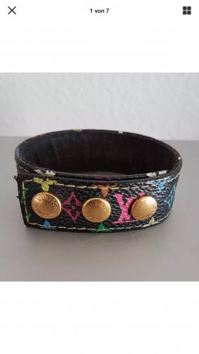 Original Louis vuitton Multicolor Leder Armband