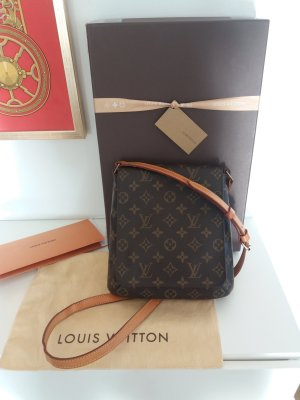 ORIGINAL LOUIS VUITTON MUSETTE SALSA BANDOULIÈRE LONGUE MONOGRAM CANVAS