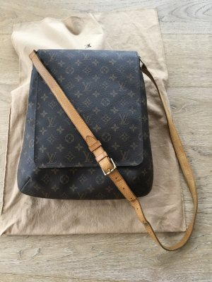Original Louis Vuitton Musette (Salsa GM), Vintage, Monogram Canvas.