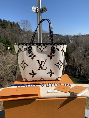 Louis Vuitton Shopper noir-blanc