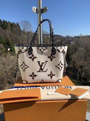 Louis Vuitton Shopper black-white