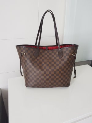 Original Louis Vuitton Neverfull MM Damier Ebene Shopper Tasche