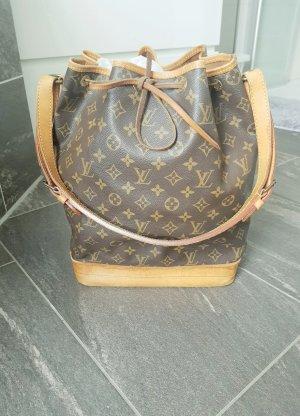 Louis Vuitton Buideltas zandig bruin-donkerbruin