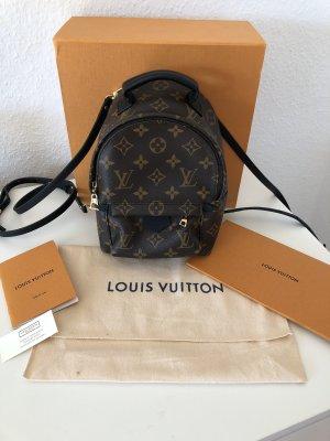 Original Louis Vuitton Palm Springs Mini Bagpack Rucksack Monogram Canvas FULLSET