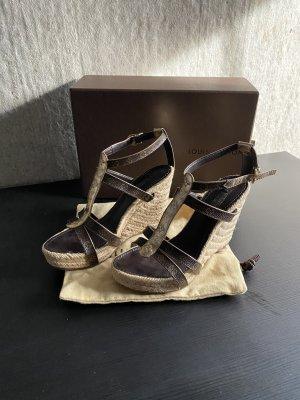 Original Louis Vuitton Plateau Sandalen 36/37 neuwertig