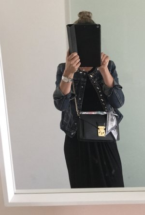 Louis Vuitton Bolso tipo pochette negro-color oro