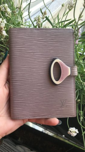 Original Louis Vuitton rar Agenda PM lila Epi Leder Z Kollektion