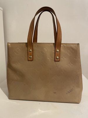 Louis Vuitton Handbag beige-dark orange leather