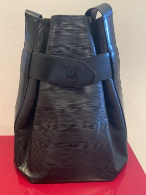 Original Louis Vuitton Sac D'Epaule GM Epi Leder schwarz