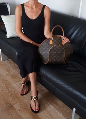 Original Louis Vuitton sac de Ville, toile monogram Ellipse moyen MM