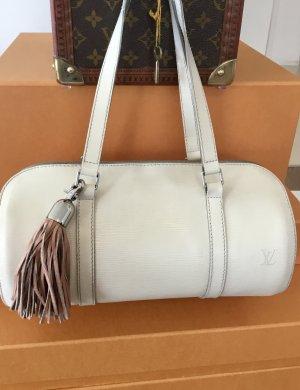 Louis Vuitton Borsetta bianco sporco Pelle