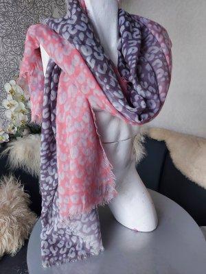Louis Vuitton Sjaal van kasjmier grijs-lichtroze