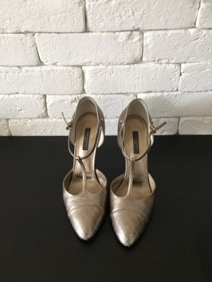 Original Louis Vuitton T- Strap Pumps *38*