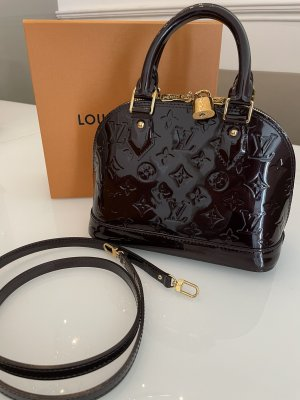 Original Louis Vuitton Tasche Alma bb Amarante