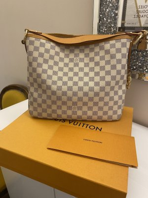 Original Louis Vuitton Tasche Delightful PM Damier Azur