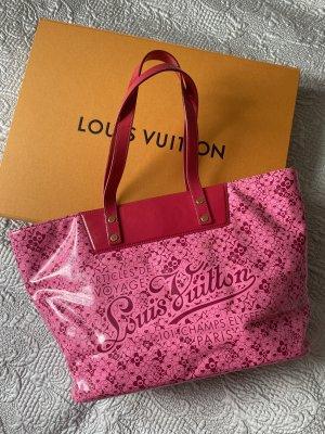 Original Louis Vuitton Tasche Neverfull MM Cosmic Blossom pink