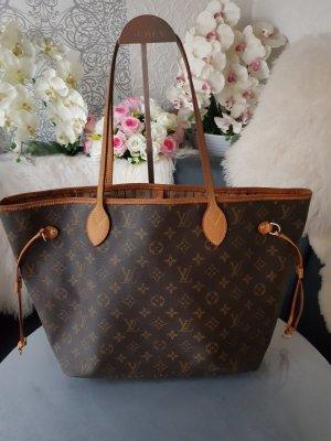Original Louis Vuitton Tasche Neverfull Shopper Monogram Canvas & Rechnungskopie