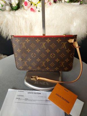 Original Louis Vuitton Tasche Pochette Clutch NEU Monogram Cerise & Kaufnachweis