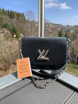 Louis Vuitton Shoulder Bag black-silver-colored