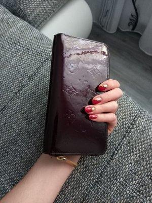 Louis Vuitton Portefeuille brun pourpre