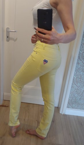 Original Love Moschino Jeans,Gr.W26, S, high waist, gelb, neuwertig