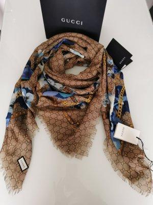 Original Luxury GUCCI Schal feine Wolle NEU