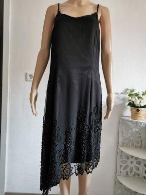 Original Malvin Damen Seidenkleid Abendkleid asymetrisch Größe 42