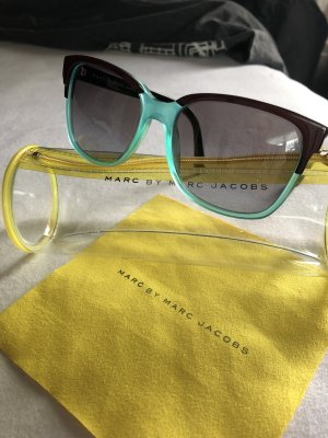 Marc by Marc Jacobs Butterfly Glasses turquoise-brown red