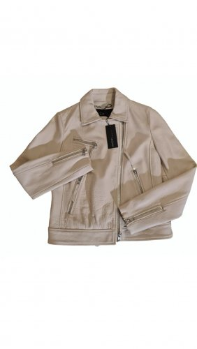 Marc Cain Leather Jacket multicolored leather