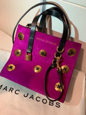 Marc Jacobs Handbag pink-black leather