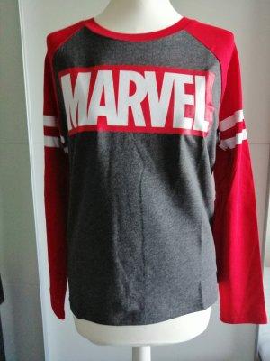 Original Marvel Girl Raglan Longsleeve Shirt, Gr. M, Neu, OVP