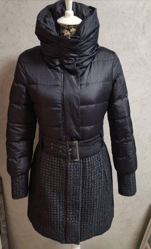 Max & Co. Winter Coat dark blue mixture fibre