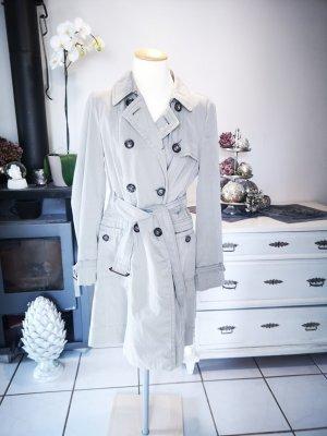 ORIGINAL MAX MARA WEEKEND Trenchcoat Gr 42 neuwertig Designermantel Trench coat beige creme Designer Mantel Sommermantel Sommer