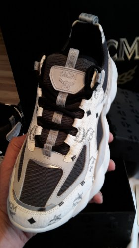 Original MCM Chunky Neon Sneaker