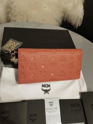 MCM Wallet cognac-coloured