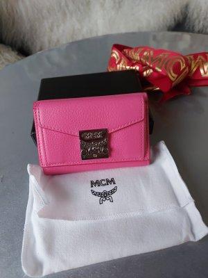 Original MCM Geldbörse pink NEU mit Box und Staubbeutel