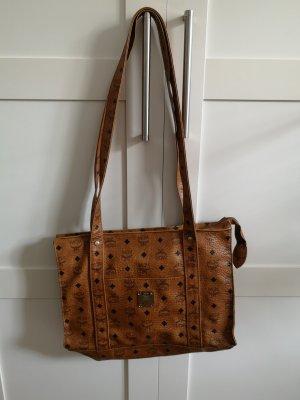 MCM Handbag brown-cognac-coloured