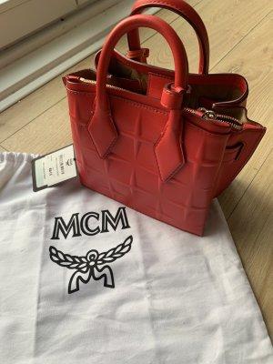 MCM Mini sac rouge